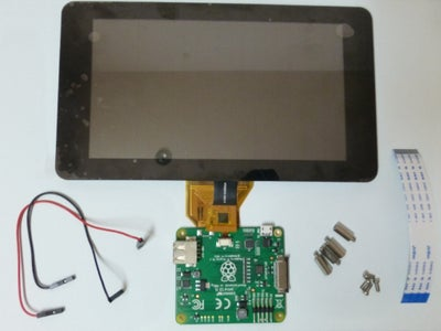 """Assemble the 7"""" Touch Screen"""