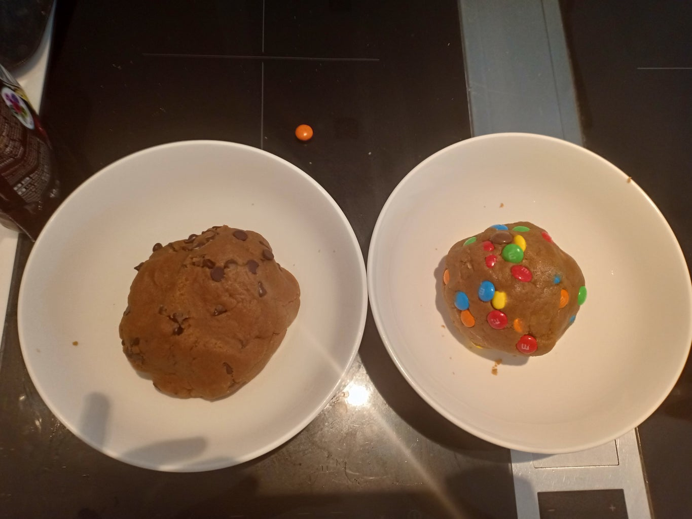 Add Cookie Dough or M&M'S
