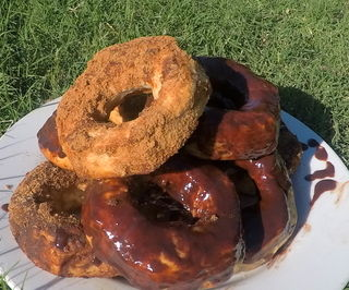 Delicious Oven Bake Donuts