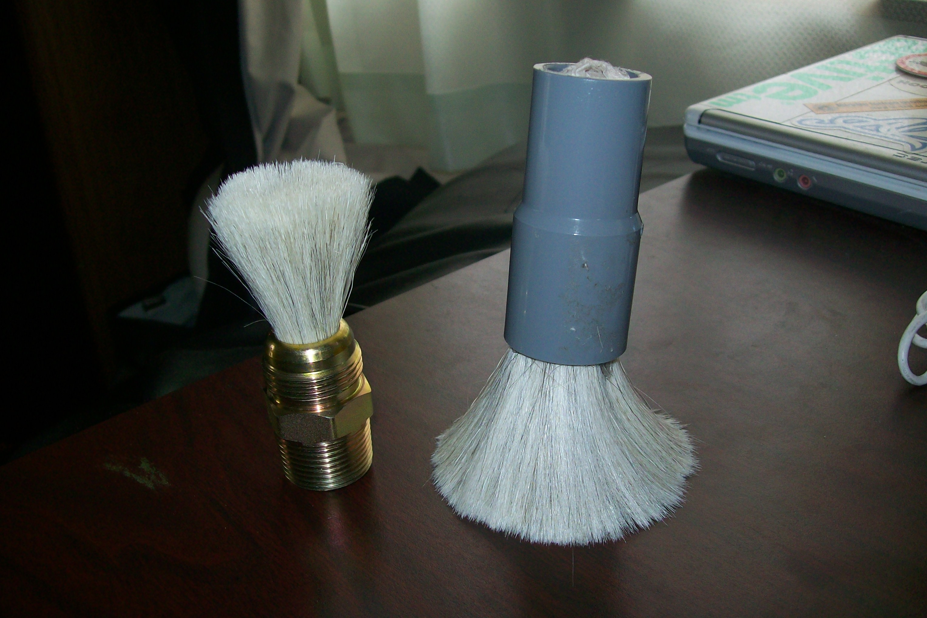 How to make a shaving brush