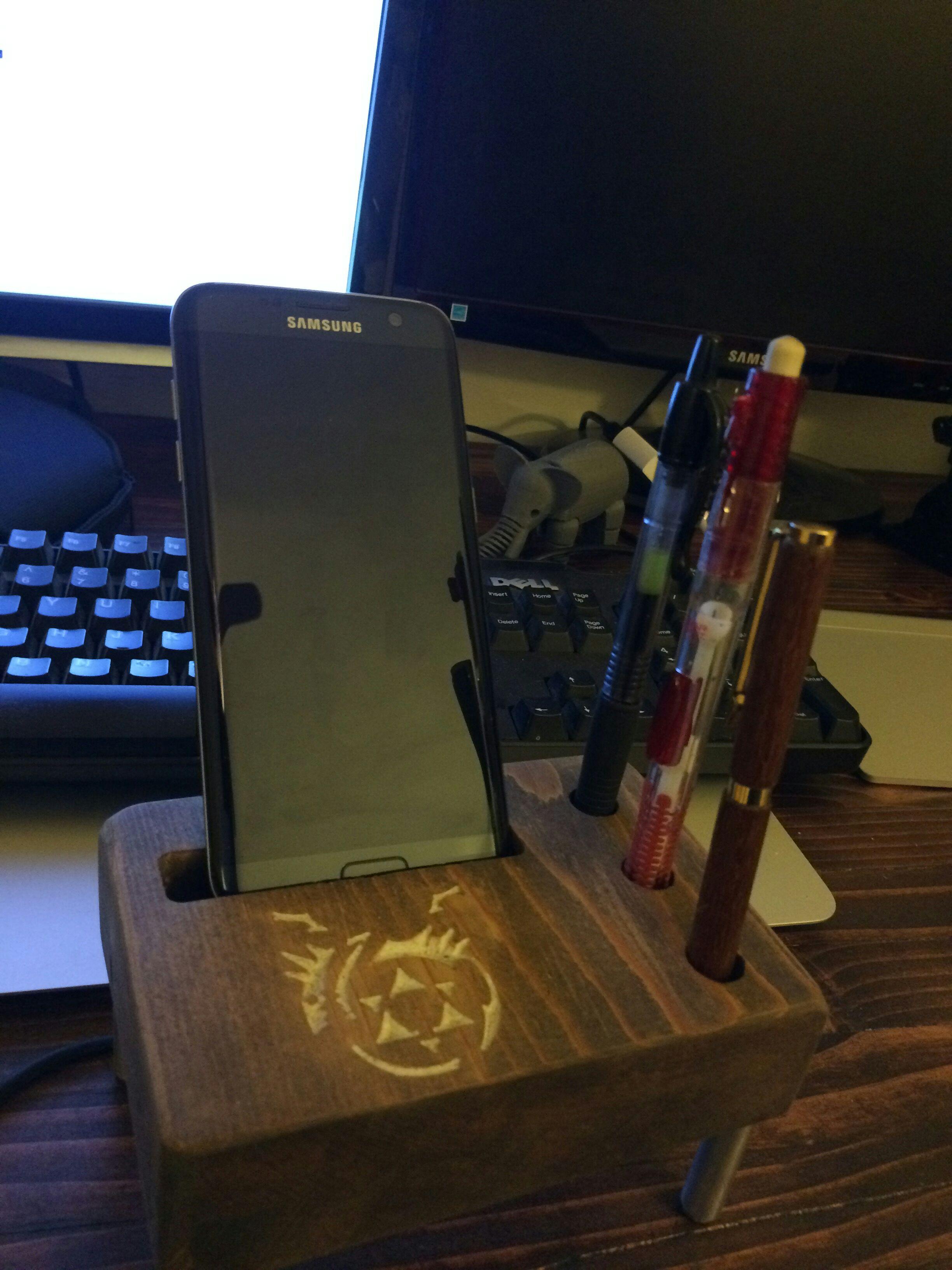 DIY CNC Phone Dock