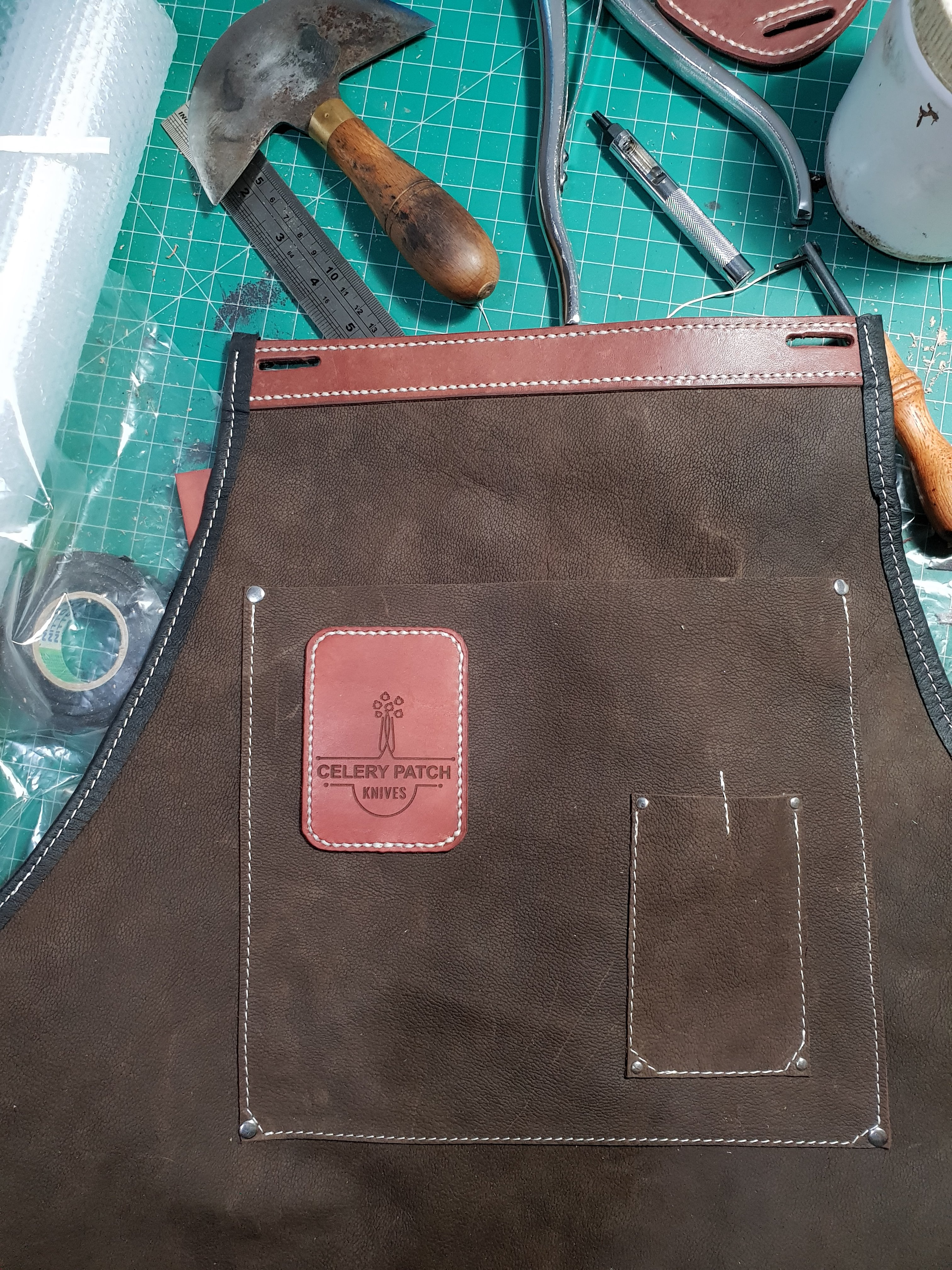 Make a Simple Leather Apron