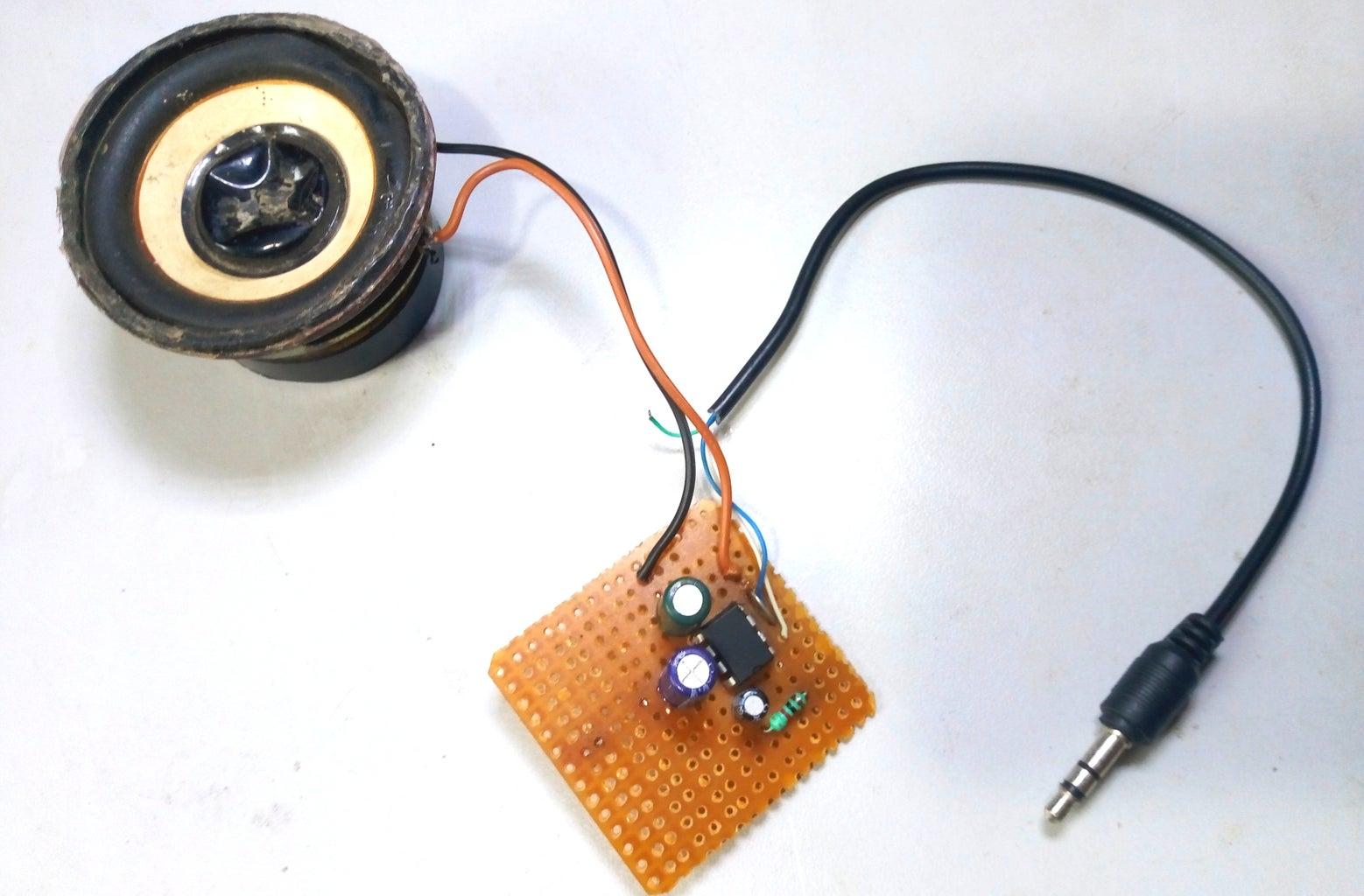 Now Connect Aux Cable
