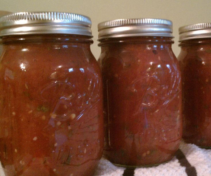Cómo enlatar: salsa casera