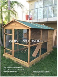 Finished Building Your Chicken Coop!