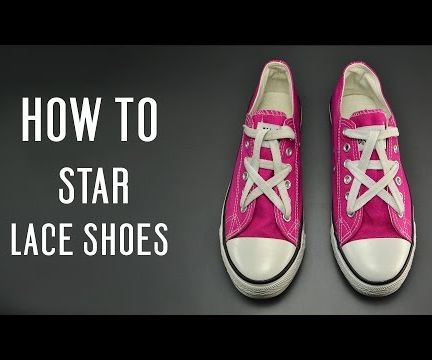 How to STAR Lace Shoes