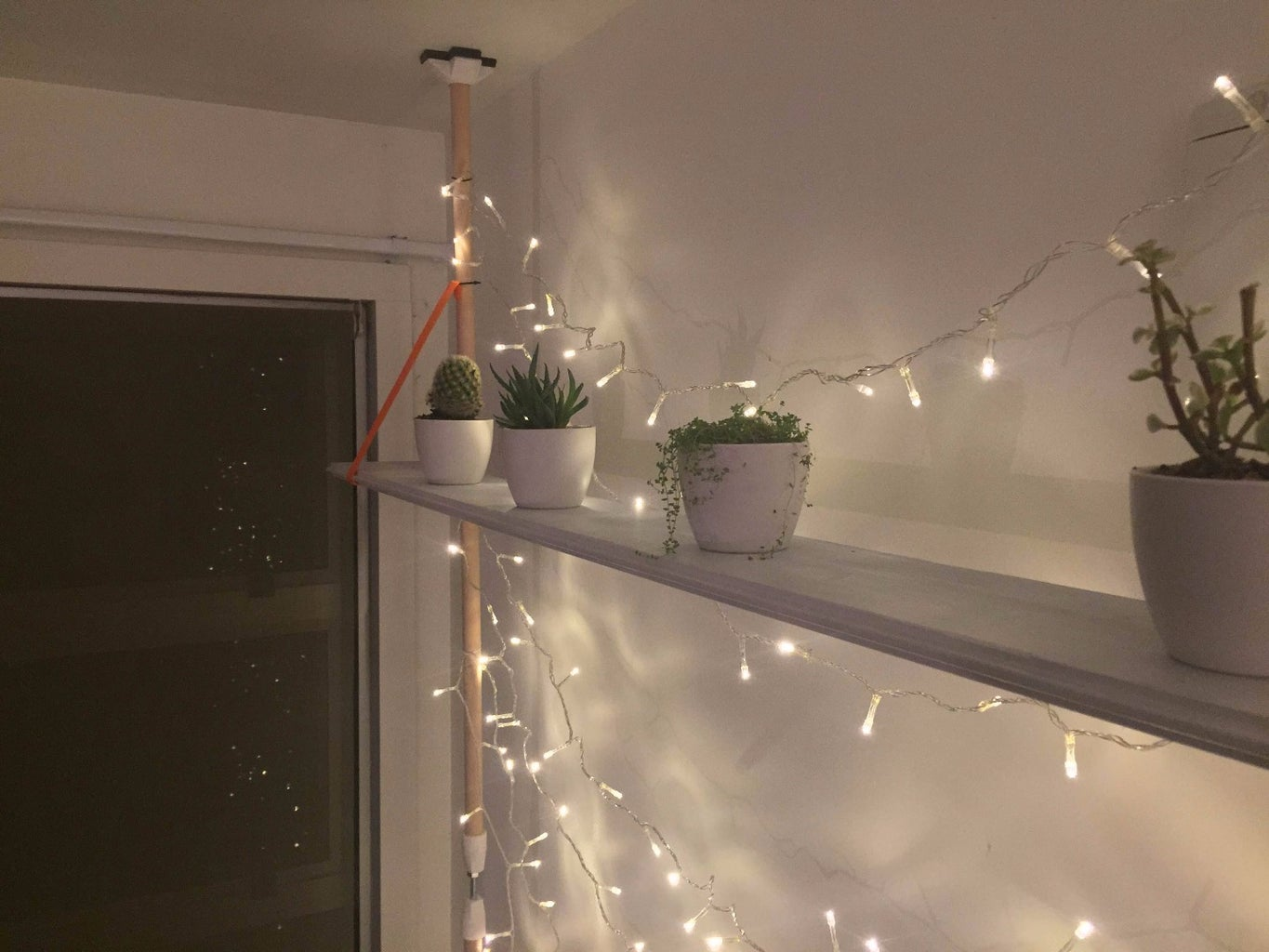 Floor to Ceiling Clamp