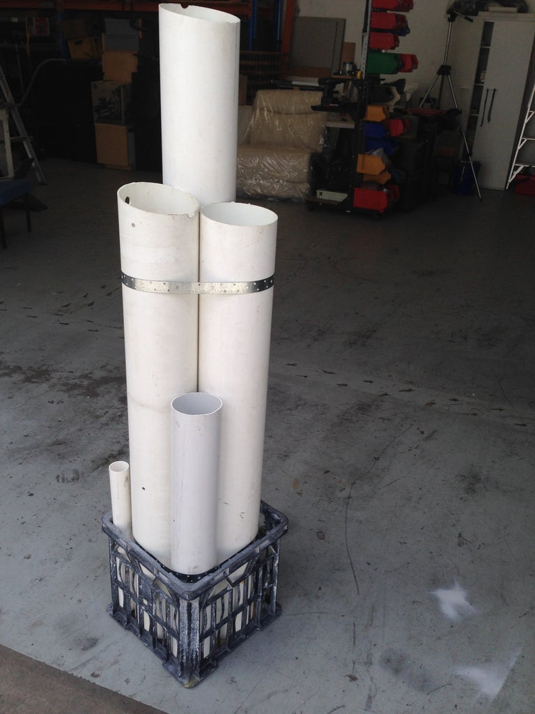 Tall Pipes Up the Back, Please