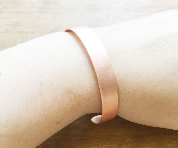 Simple Copper Cuff