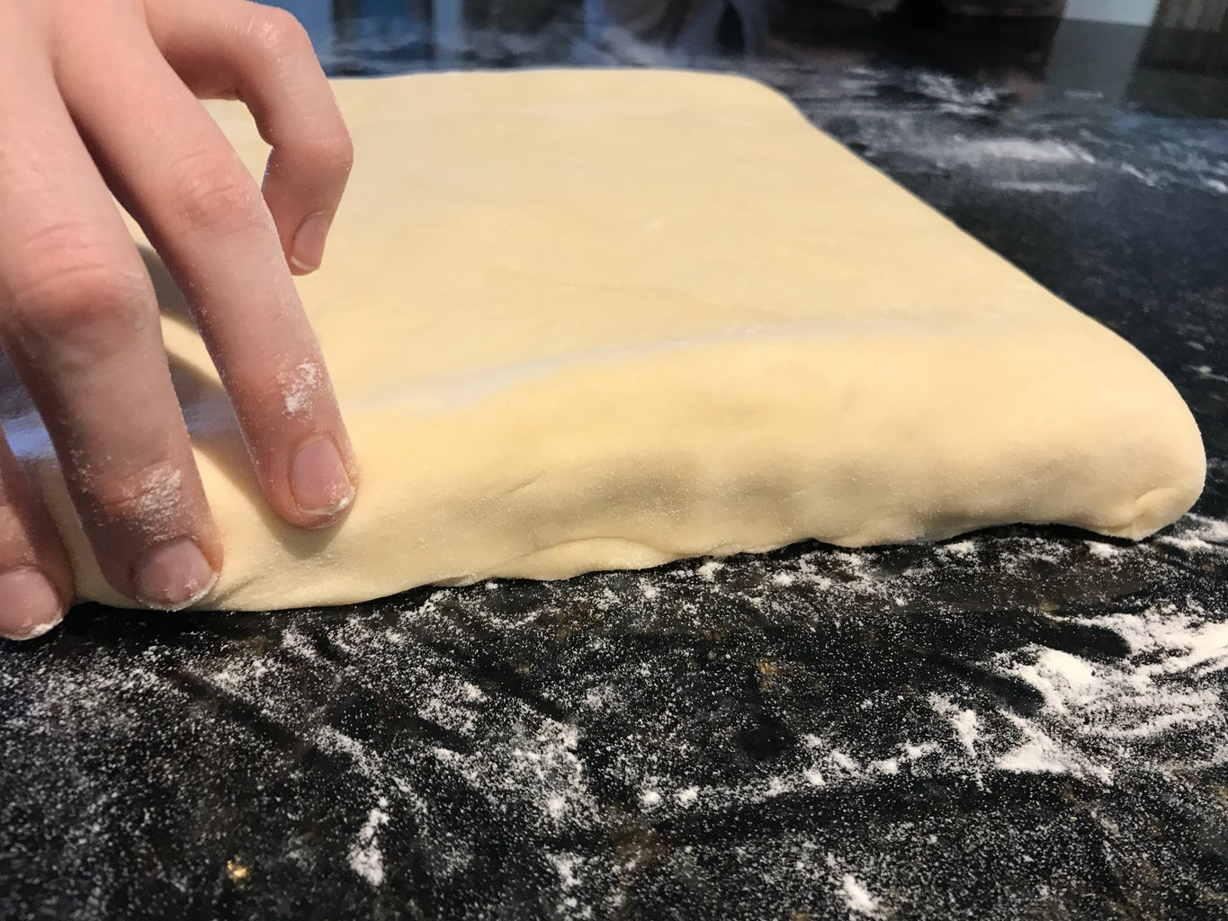 Make the Croissant Butter Pastry Dough