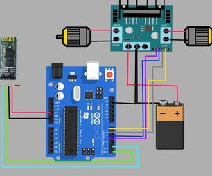 DIY Bluetooth Controlled Car