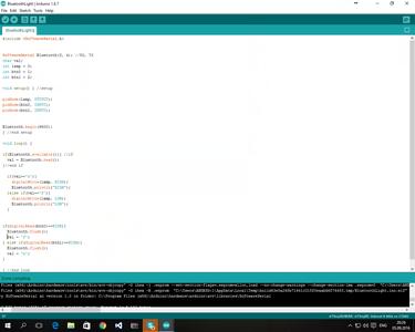 Programming the MCU