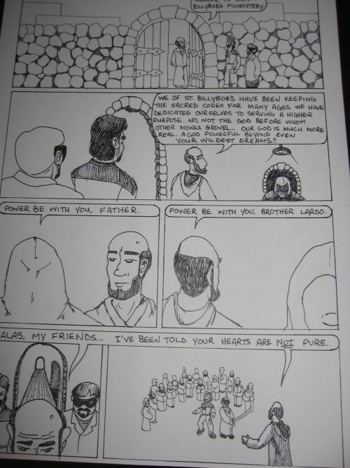 Making a Web-Comic: Scanning, Cleaning, and Publishing Lineart