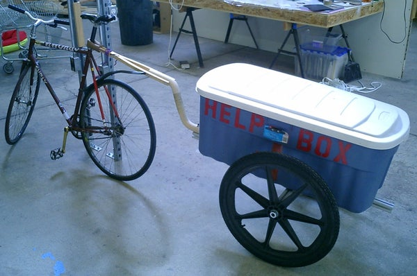 Bicycle Trailer.