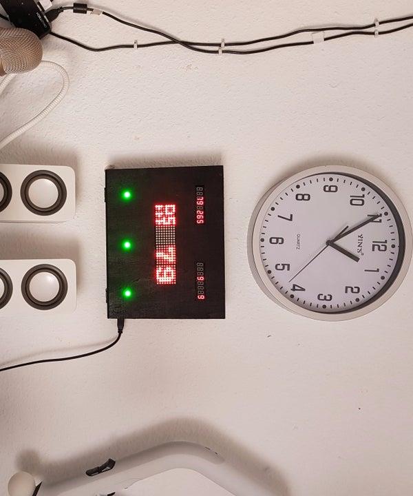 Arduino Live Wifi Web Scoreboard