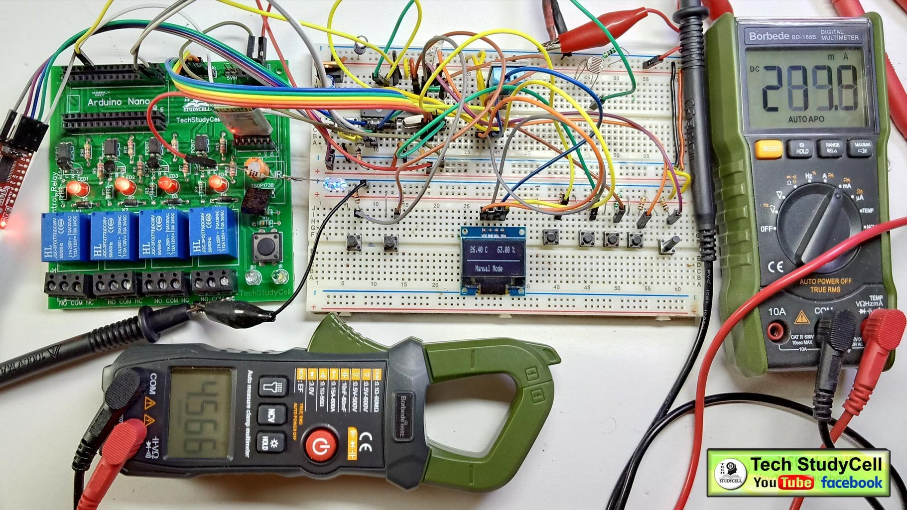 Make the Circuit on Breadboard for Testing