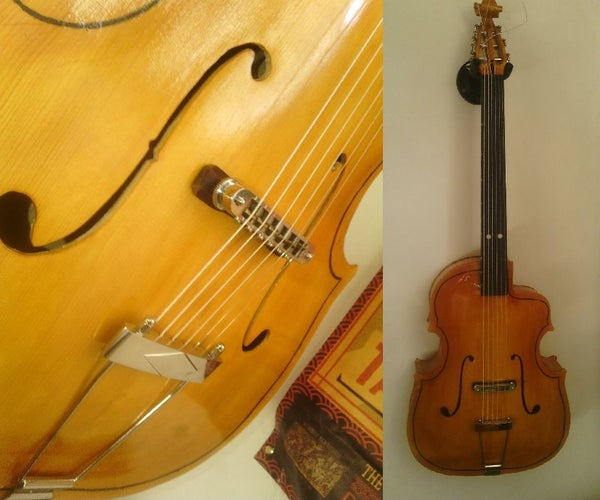 Build Your Own Instrument (Guitar With a Violin Shape in My Case) !
