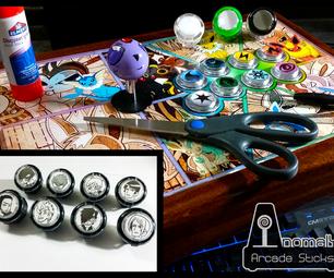 Custom Arcadestick/Fightstick Buttons
