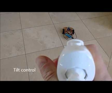 ESP8266 and Visuino: WiFi Remote Control Smart Car Robot With Wii Nunchuck