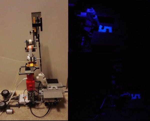 DIY Glow 3D Printer
