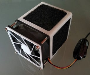 Air Purifier (active Carbon Filter) for 80mm Fan