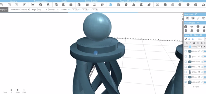 Modifying the Shape of the Chess Piece