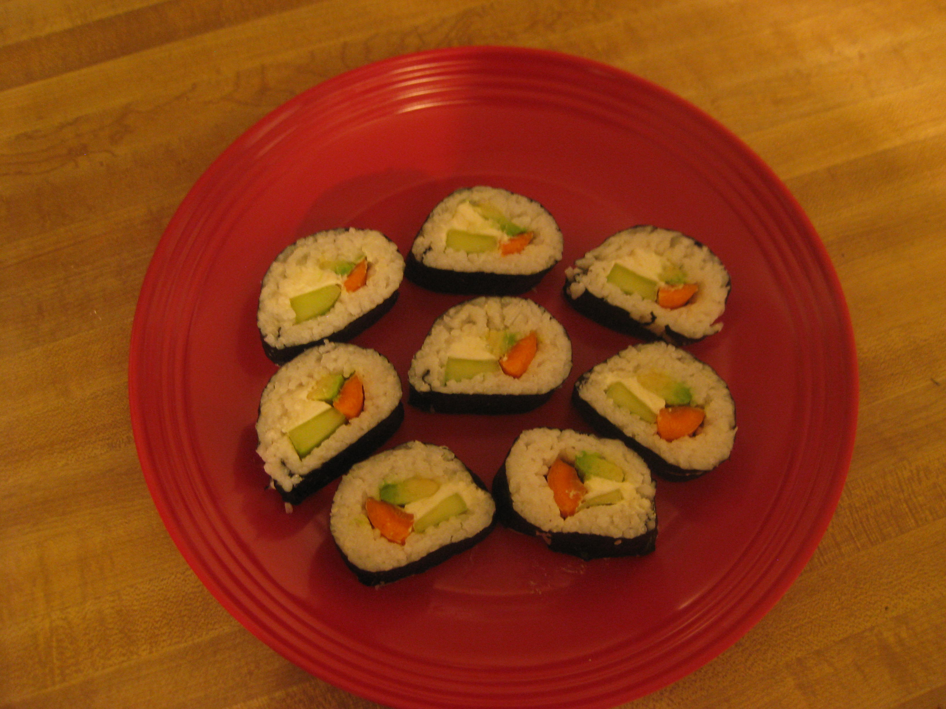 Vegetarian Sushi for Beginners: How to Create a Basic Sushi Roll