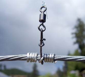 Add the Fasteners and Secure Them to the Wire.