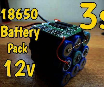 Diy 18650 3s Battery Pack