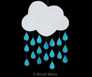 Rainy Cloud Room Decor