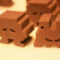 Chocolate Space Invaders