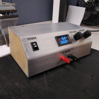 Build Your Own Variable Lab Bench Power Supply