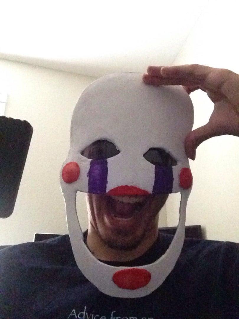 FNAF2 Marrionette Mask