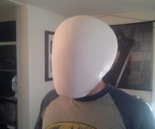 Base Helmet With Raw Plaster Casting