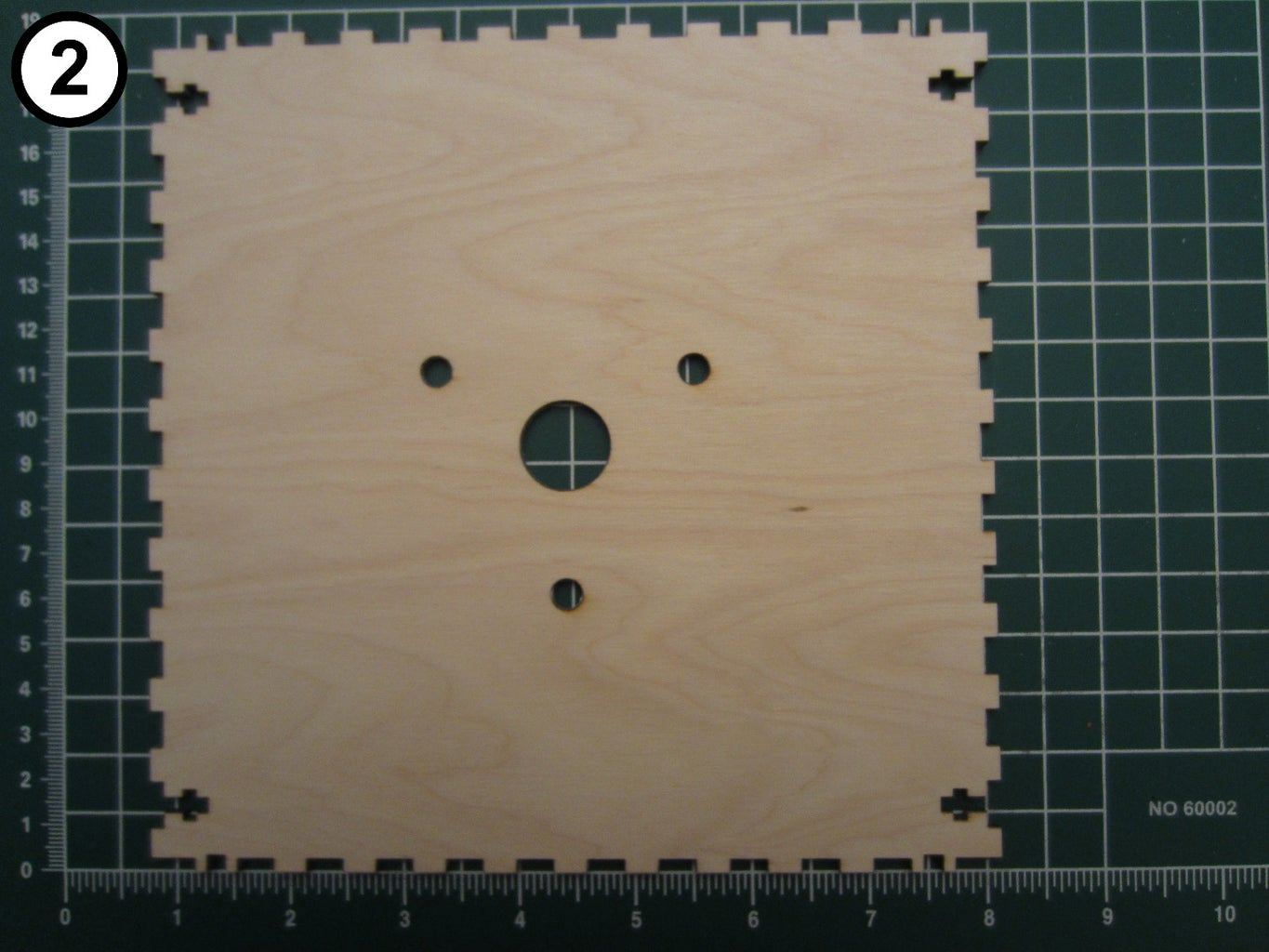 Attach the Tower Lamp to the Top Panel