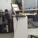 IKEA Hack: Bookcase to Desk