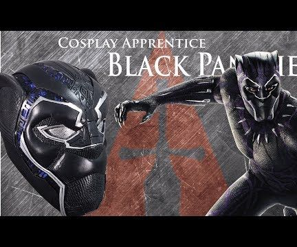 How to Make a Black Panther Costume - Helmet
