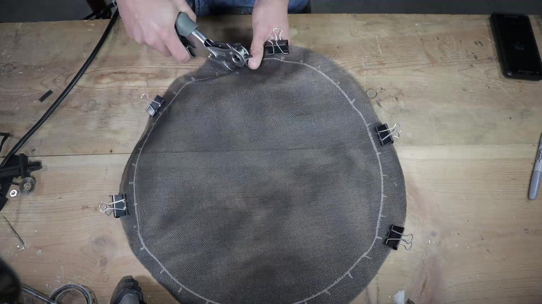 Make Mesh Drum Heads