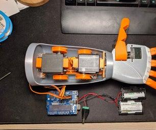 3D Printed Robotic Arm