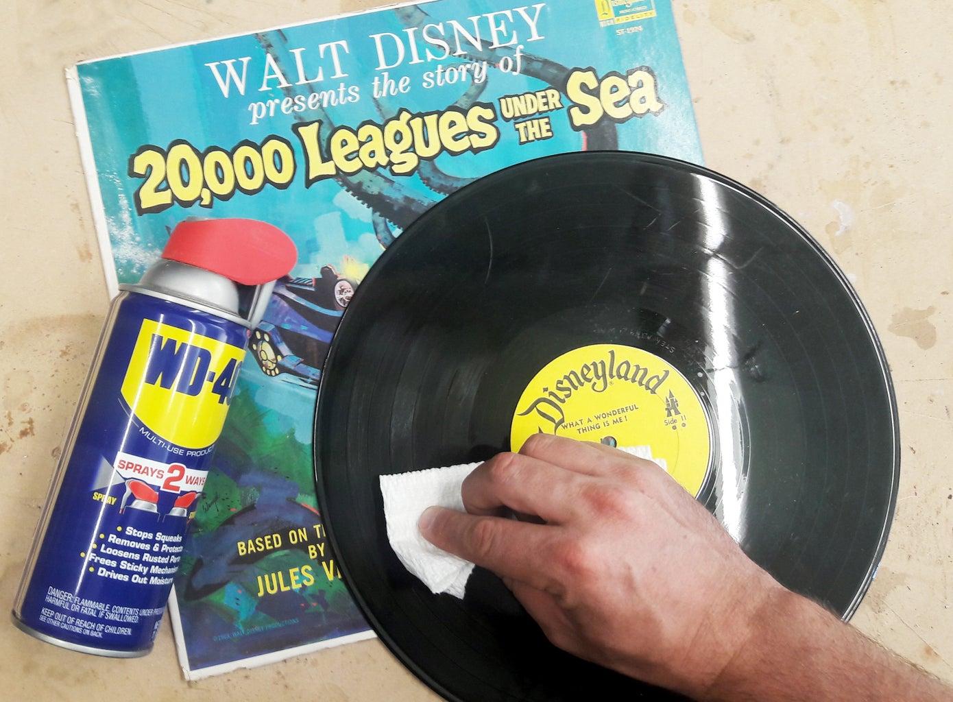 Lubricate Vinyl Records