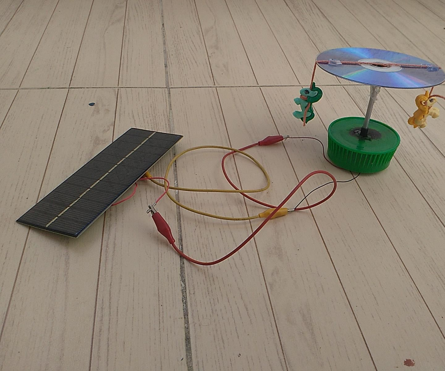 How I Made a Simple Solar Carousel for My Kids - Solar Merry Go Round Toy