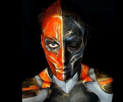 Deathstroke Face Paint!