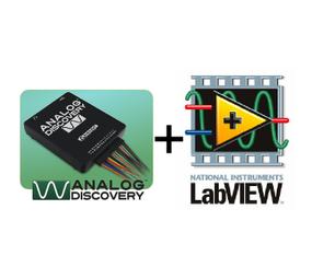 Analog Discovery™ USB Oscilloscope + LabVIEW