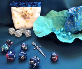 Three Different Dice Bags