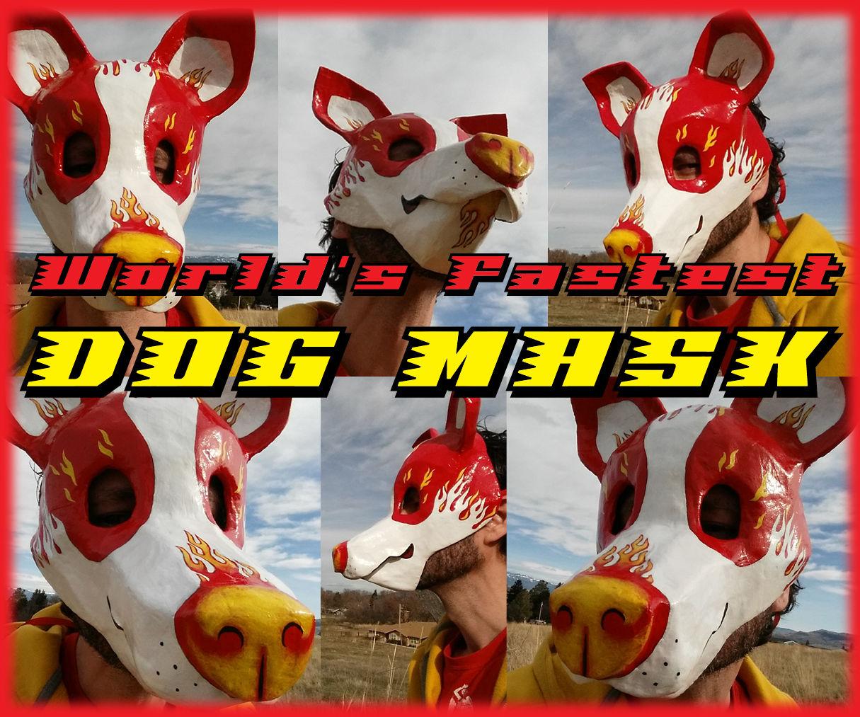 Hotrod Dog Mask
