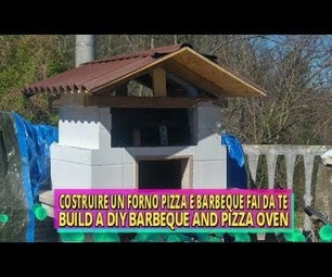 DIY Combined Barbecue and Wood Fired Oven