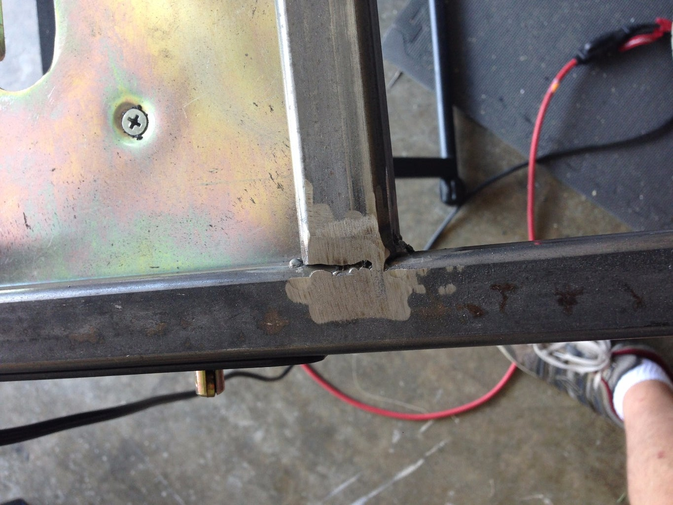 Weld the Brackets, Drill the Holes