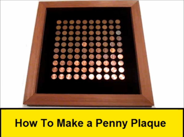 How To Make a Penny Plaque