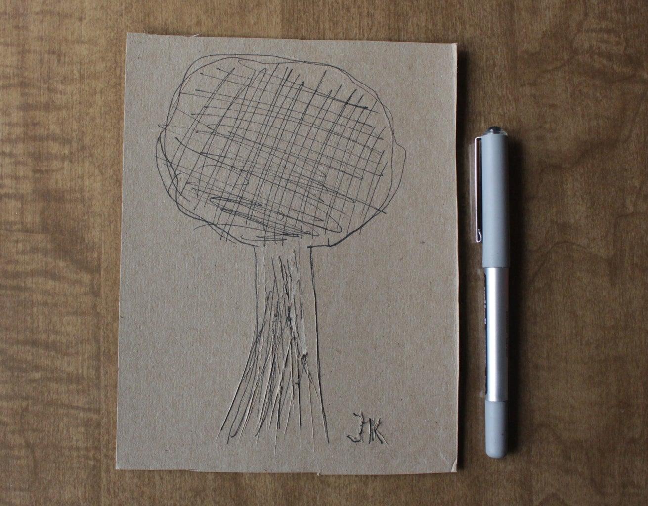 Cardboard/Paperboard Texture Art
