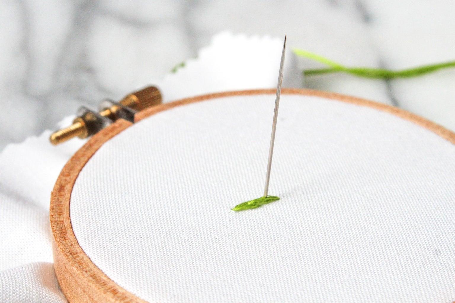 How to Do the Split Stitch